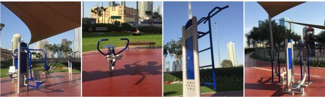 Udendørs fitness